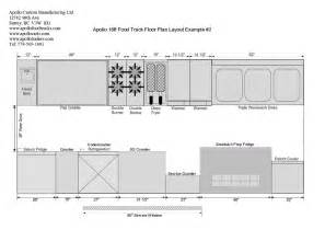 Food Truck Layout Template by Food Truck Floor Plans Schematics And Layouts For Apollo