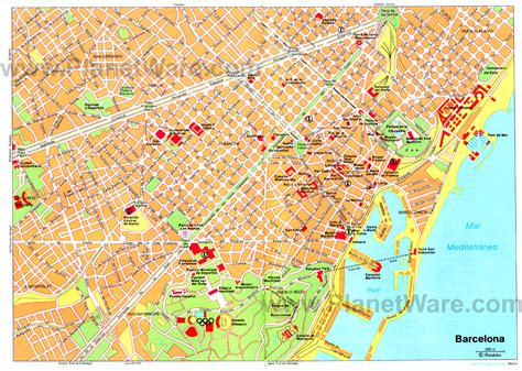 map of barcelona maps update 1200854 tourist map of barcelona spain 11 toprated tourist attractions in