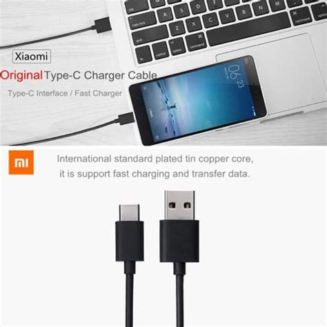 Original Kabel Data Xiaomi Type C Micro Usb jual kabel data xiaomi type c mi4c original ori 100 micro
