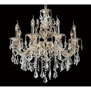 decorative chandeliers arrow decorative 8 light chandelier in antique