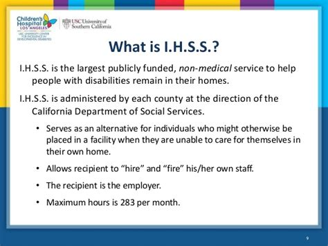 In Home Supportive Services California by In Home Supportive Services Ihss Home Review