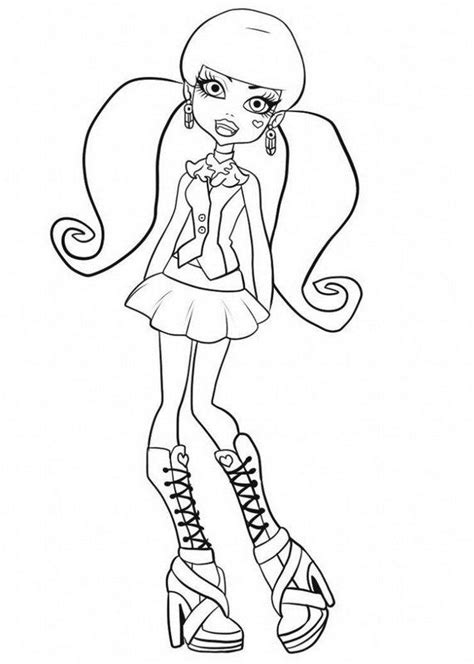 monster high valentines day coloring pages monster high coloring pages 2018 z31 coloring page