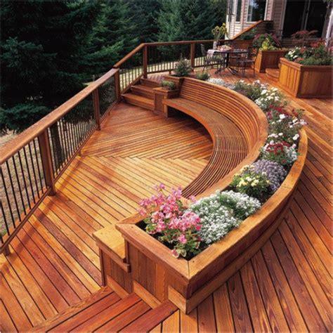 wooden deck wonderful  unique design   home