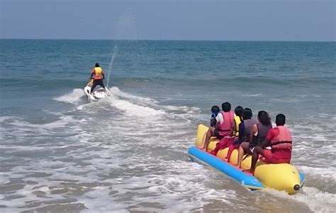 banana boat ride safe sea world in tondavali tripplatform