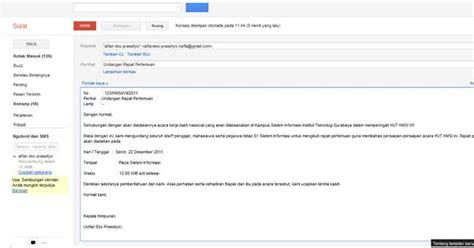etika membuat email cara membuat email resmi mimpi trigati