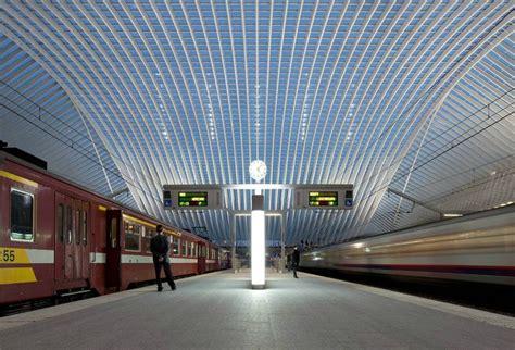 liege station wordlesstech li 232 ge guillemins station by santiago calatrava