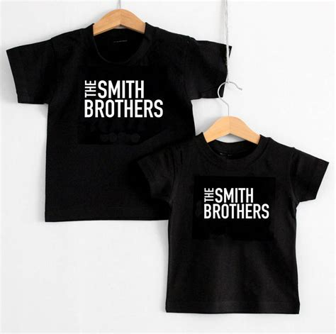 Hoodie Sidemen 2 Brothersapparel the surname brothers matching children s t shirts by