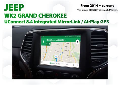 how to connect phone to jeep grand jeep grand uconnect 8 4 integrated smartphone