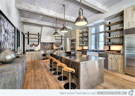 outstanding industrial kitchens home design lover