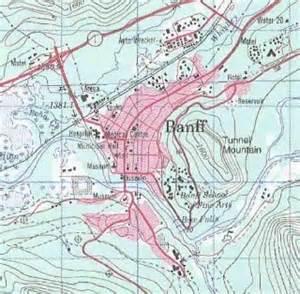banff topo map