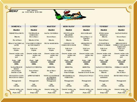 alimentazione sana ed equilibrata esempio menu settimanale equilibrato pdf ig03 pineglen