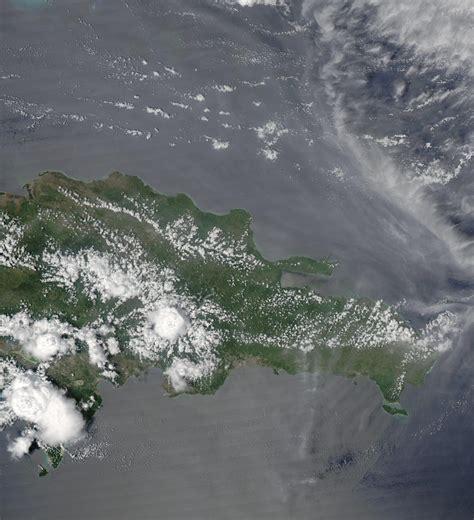 imagenes satelitales republica dominicana satellite image photo of the dominican republic