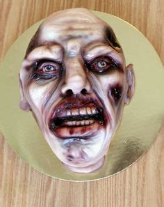 zombie cake tutorial 1000 images about painting and airbrush bakery on