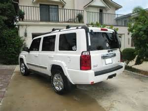 2007 Jeep Commander White Sell Used 2007 Jeep Commander Overland Loaded 4x4 White