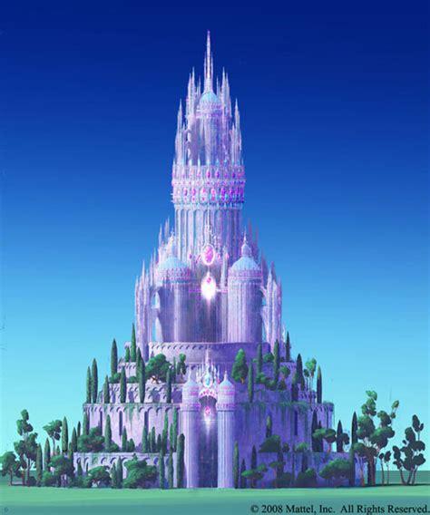 Minecraft Wall Murals diamond castle some stills barbie movies photo