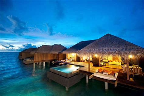 the best overwater bungalows travel leisure ayada maldives resort overwater bungalows