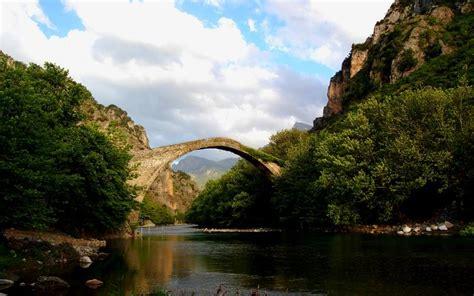 hd stone bridge wallpaper