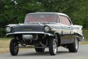 1957 chevrolet bel air gasser gassers