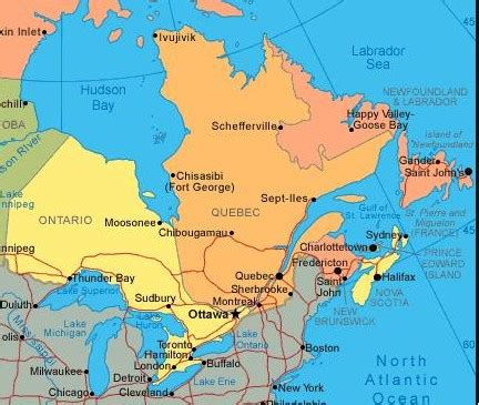 map of east coast usa and canada east coast of canada map seeing eastern canada highlights