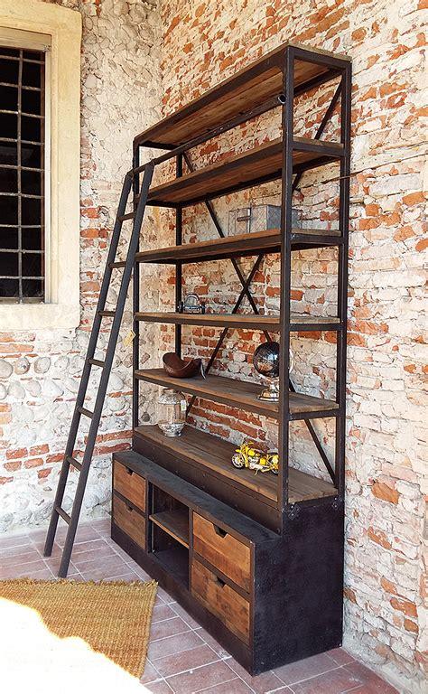 libreria in stile libreria in stile industrial trendy home