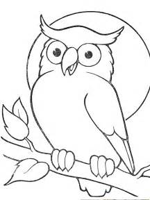 Owl Image Outline by Owl Outline Gallery