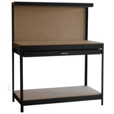 work benches at home depot steel black workbench home depot b m 39 ymmv