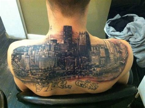 pittsburgh skyline tattoo 32 best pittsburgh ink images on