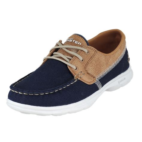 navy boat shoes womens skechers go step seashore navy womens boat shoes size 9 5m