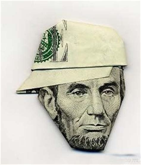 Cool Money Origami - lonewolf cool money origami