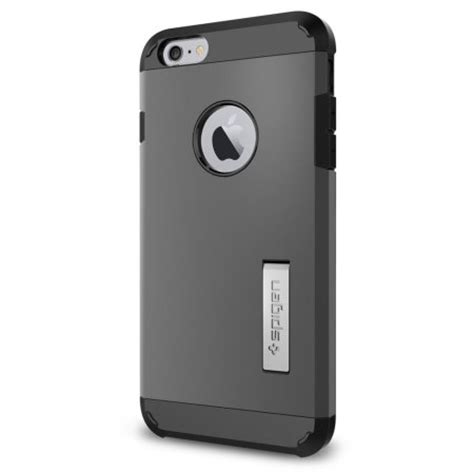 Spigen Iphone 6s Plus 6 Plus spigen tough armor iphone 6s plus 6 plus gunmetal mobilezap australia