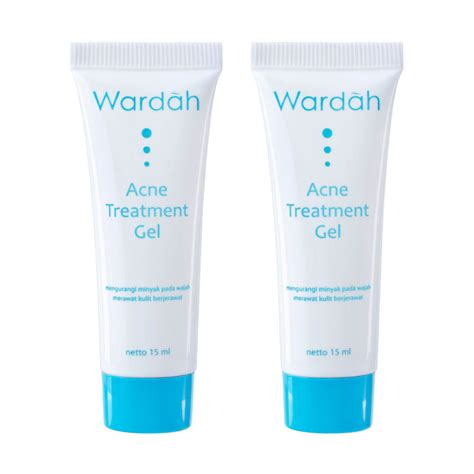 Wardah Essential Series acne perfecting moisturizer gel