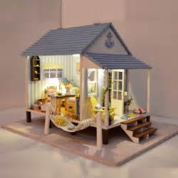 3d home kit by design works diy wood house 3d home dollhouse cute furniture handmade model assembled kit toy to kids