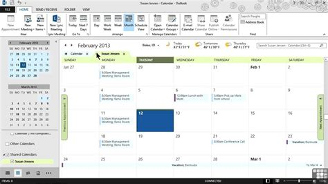 Outlook Office Login by Microsoft Outlook 2013 Tutorial Calendars And
