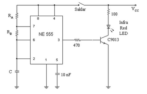 Alarm Tikus rangkaian remot kontrol sederhana