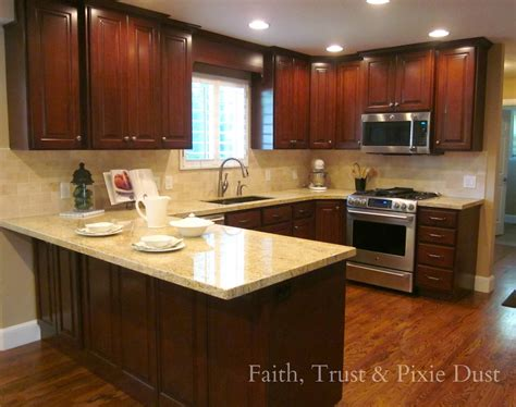 Kitchen Breakfast Bar Designs by Honey I M Home A Spectacular Kitchen Remodel