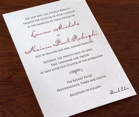 Wording Exles Wedding Invitations by Destination Wedding Invitation Etiquette Wedding