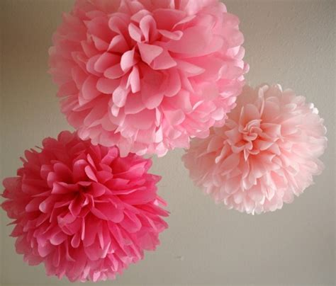 Tissue Paper Pom Poms - bramblewood fashion modest fashion tissue