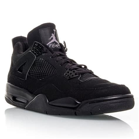 men jordan 4 c air jordan 4 black cat mens basketball shoes black