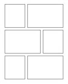 Blank comic book strip template andrew fuller
