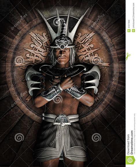fantasy egyptian warrior stock illustration image 41217903