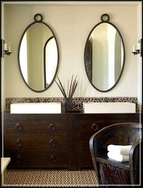 small oval mirrors bathroom beautiful oval bathroom mirrors to add visual interest home design ideas plans