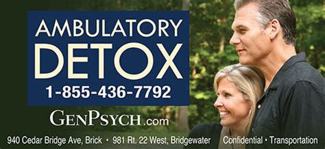 Ambulatory Detox Protocols by Genpsych Site Treatment Center Costs