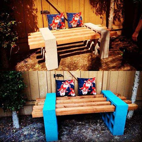 cinder block bench diy here are 26 ways you can make awesome outdoor seats using