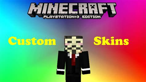 themes ps3 minecraft minecraft ps3 custom skins youtube