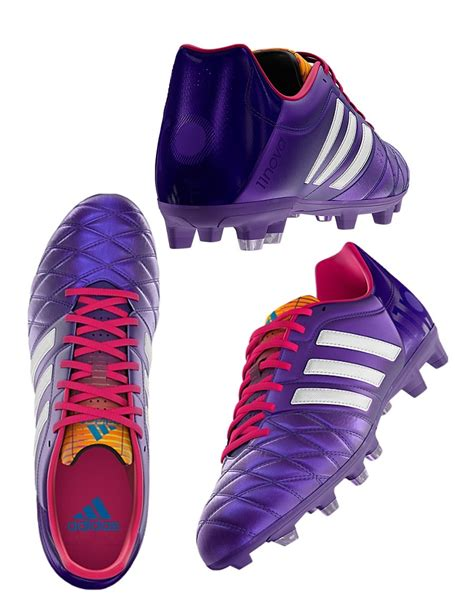 mens football boots size 12 new mens adidas 11nova trx fg white purple football soccer