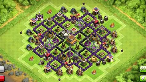 coc layout hybrid best clash of clans town hall 8 hybrid base layouts