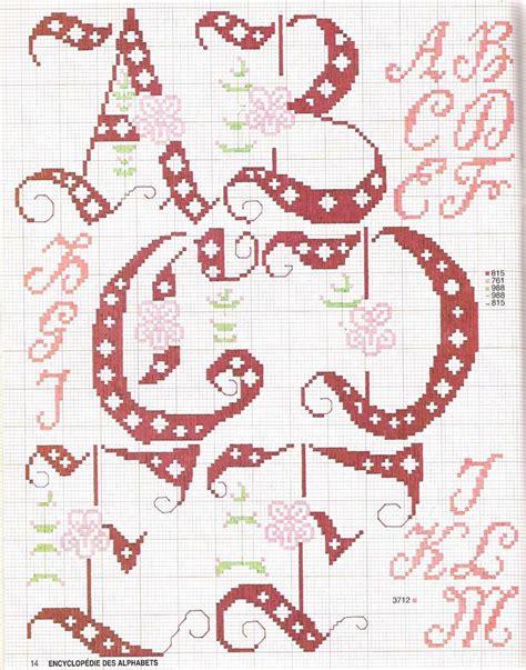 alfabeto con fiori 17 best images about alfabeti della nonna on