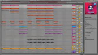 free ableton live templates free tech house ableton live project template