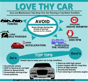 tips on buying a new car from a dealership infographic care and maintenance tips for cars