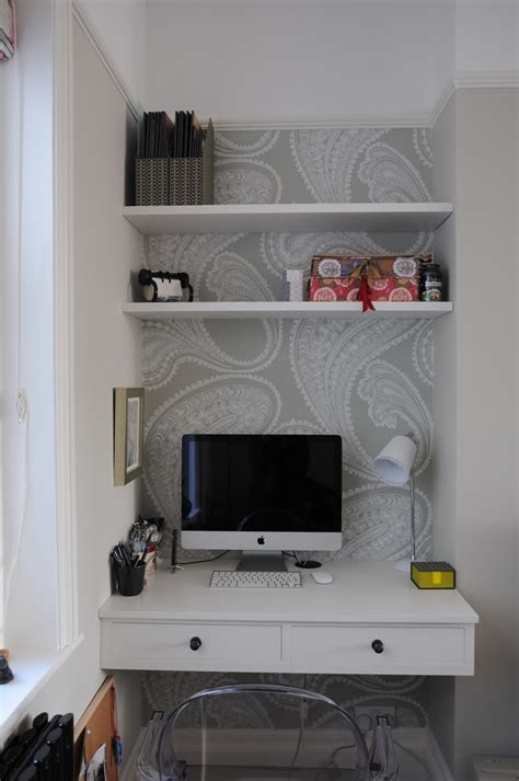 built in desk in bedroom cole and son wallpaper rajapur hallway ideas